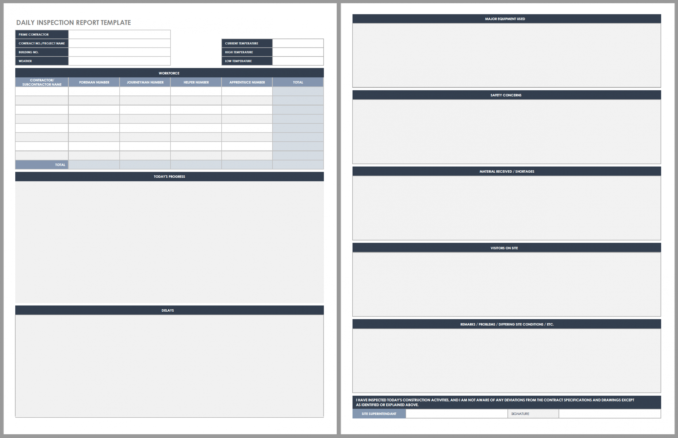 free daily work schedule templates  smartsheet daily operations report template example