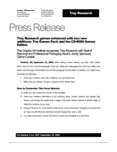 46 press release format templates examples & samples official press release template example