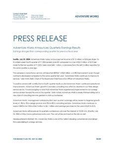 46 press release format templates examples & samples official press release template pdf