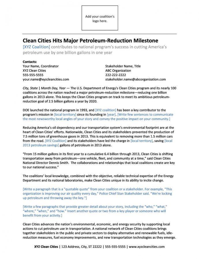 Editable 46 Press Release Format Templates Examples & Samples Police Press Release Template Example