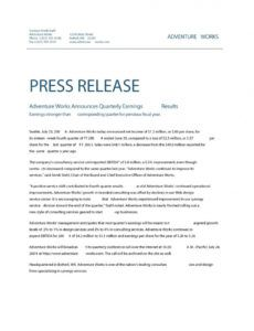 editable 47 free press release format templates examples & samples official press release template example