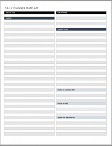 editable free daily work schedule templates  smartsheet restaurant manager daily report template doc