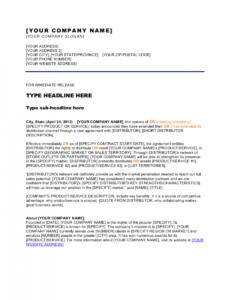 editable press release new distribution channel template  by new website press release template doc