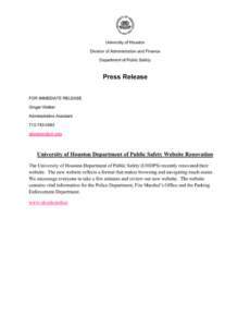 editable press release police press release template excel
