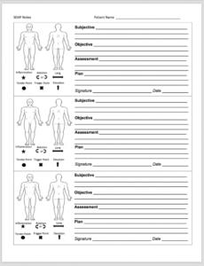 free forms  my massage world massage therapy progress report template