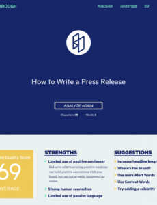 free how to write a press release in 7 easy steps 2020 update modern press release template example