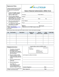 material return form  fill online printable fillable material release form template pdf
