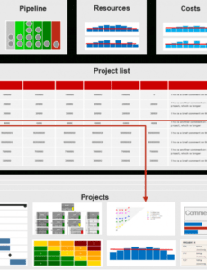 pmo reports for project and portfolio management requirements project portfolio report template example