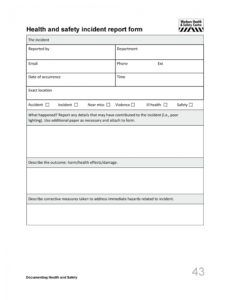 printable 60 incident report template employee police generic police incident report form template doc