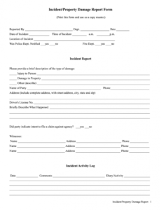printable property damage report  fill out and sign printable pdf template  signnow property damage report form template word