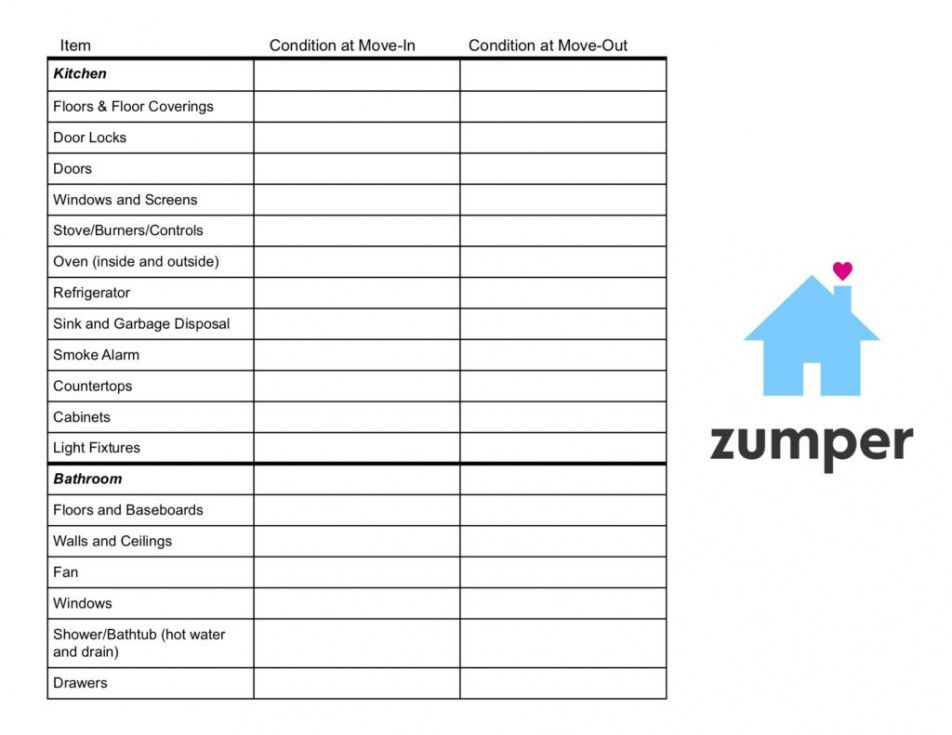 printable rental inspection checklist printable pdf periodic inspection report for rental property template excel