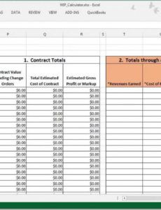 sample wip calculations can be easy! work in process report template doc