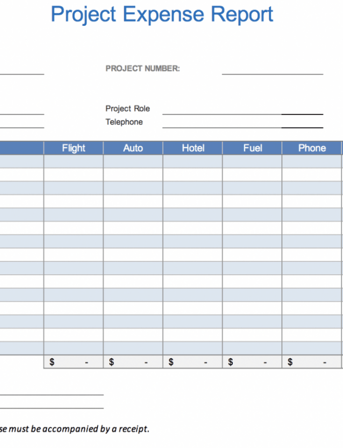 The 7 Best Expense Report Templates For Microsoft Excel Gas Expense Report Template Sample
