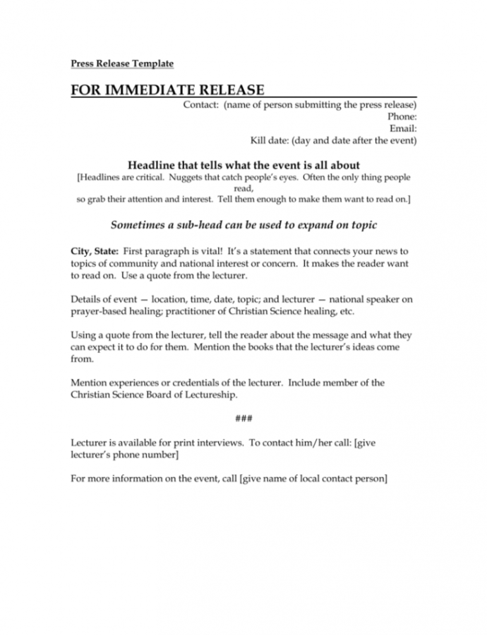 Free Press Release Template New Board Member Press Release Template Word