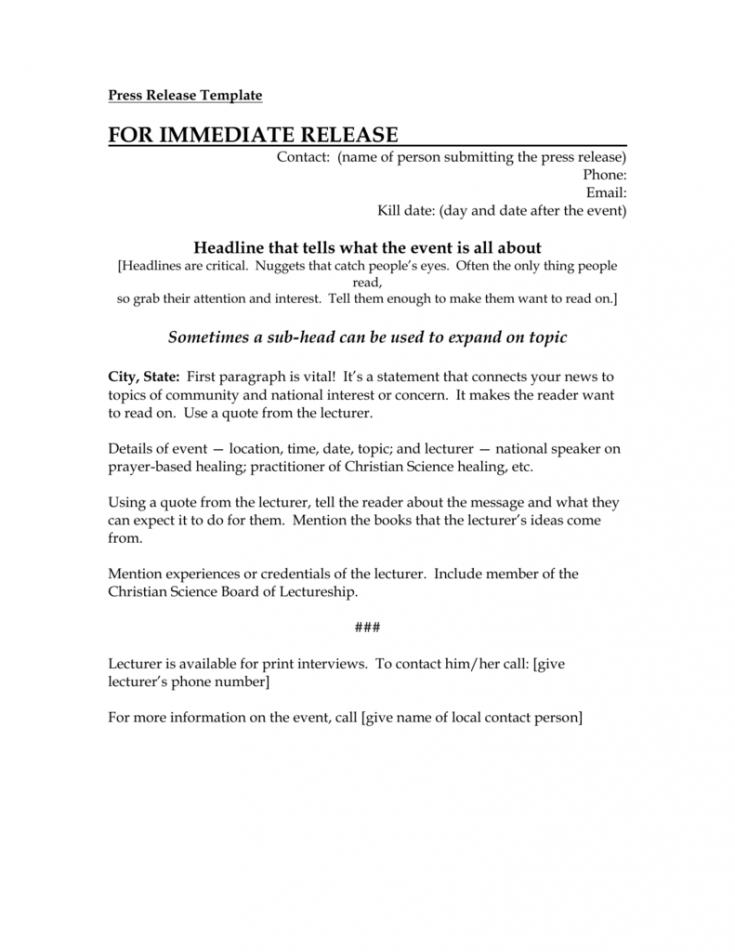 free press release template new board member press release template word