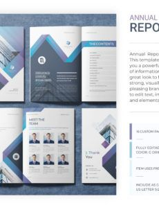 printable annual report template by yosouf dalloul on dribbble company annual report template pdf