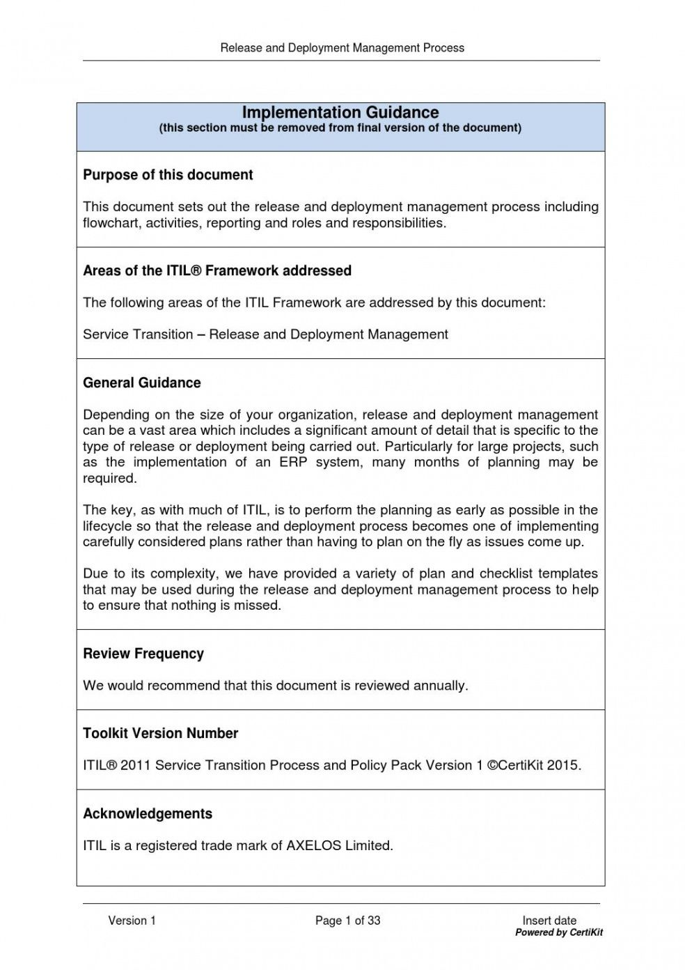 printable itilst0402 release and deployment management process by release management policy template doc