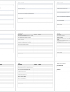 sample free project report templates  smartsheet client visit report template example