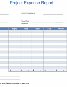 sample the 7 best expense report templates for microsoft excel independent contractor expense report template example