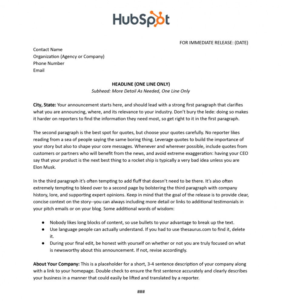 sample to press release or not to press release the who what new board member press release template sample