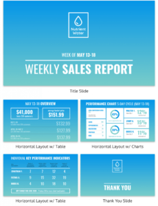 editable 50 essential business report templates  venngage sales team report template sample