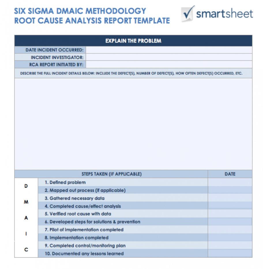 editable 7 free root cause analysis templates & how to use them failure analysis report template doc