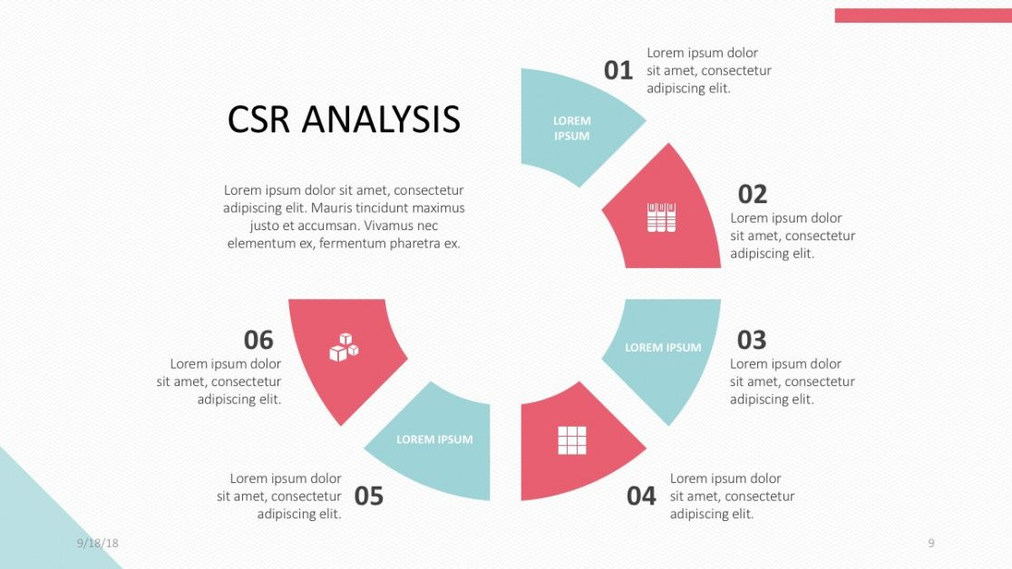 editable corporate social responsibility csr free powerpoint template corporate social responsibility report template word