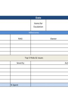 editable project status report free excel template  projectmanager weekly staff report template
