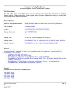 free after action report template 2 business after action report template sample