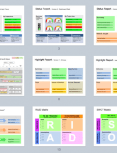 keynote status template  clear & successful status reports executive status report template excel