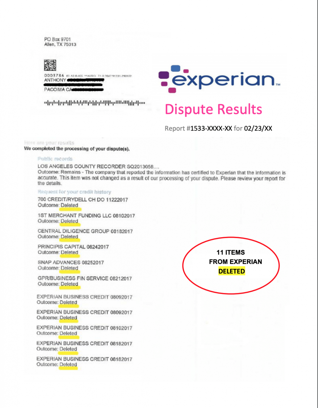 most effective credit bureau dispute letter  2020 free copy dispute credit report template doc