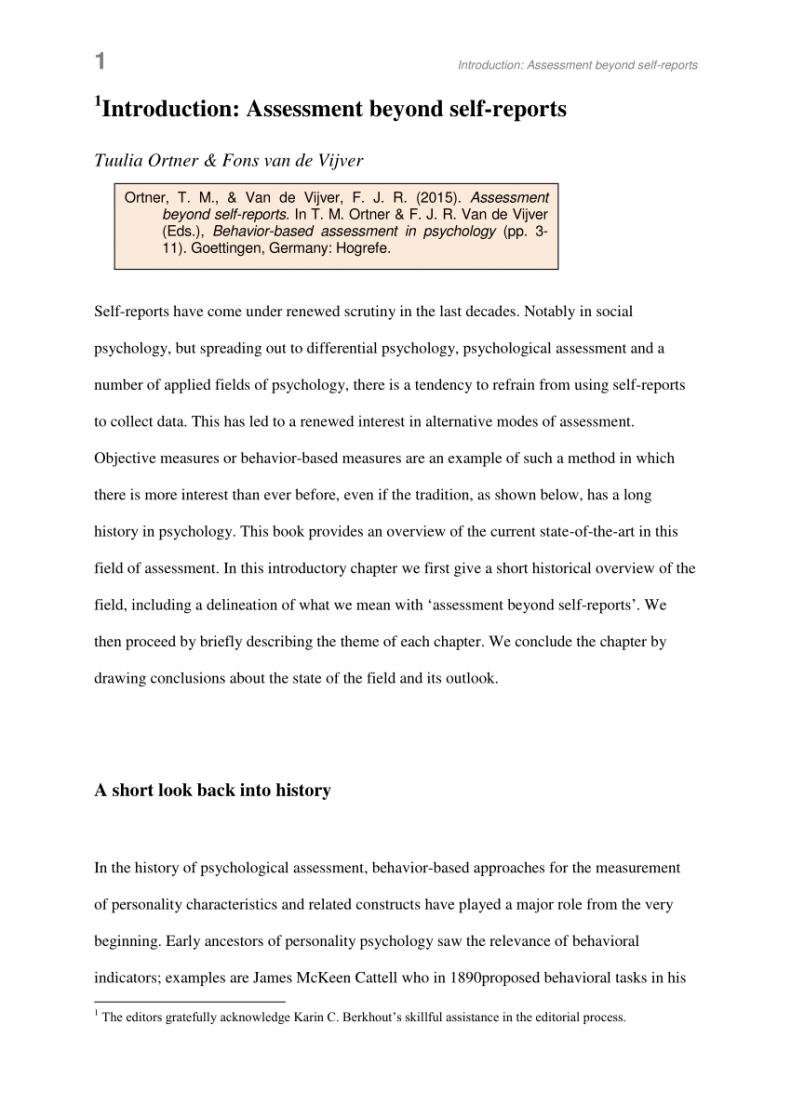 printable pdf assessment beyond selfreports psychological assessment report template example