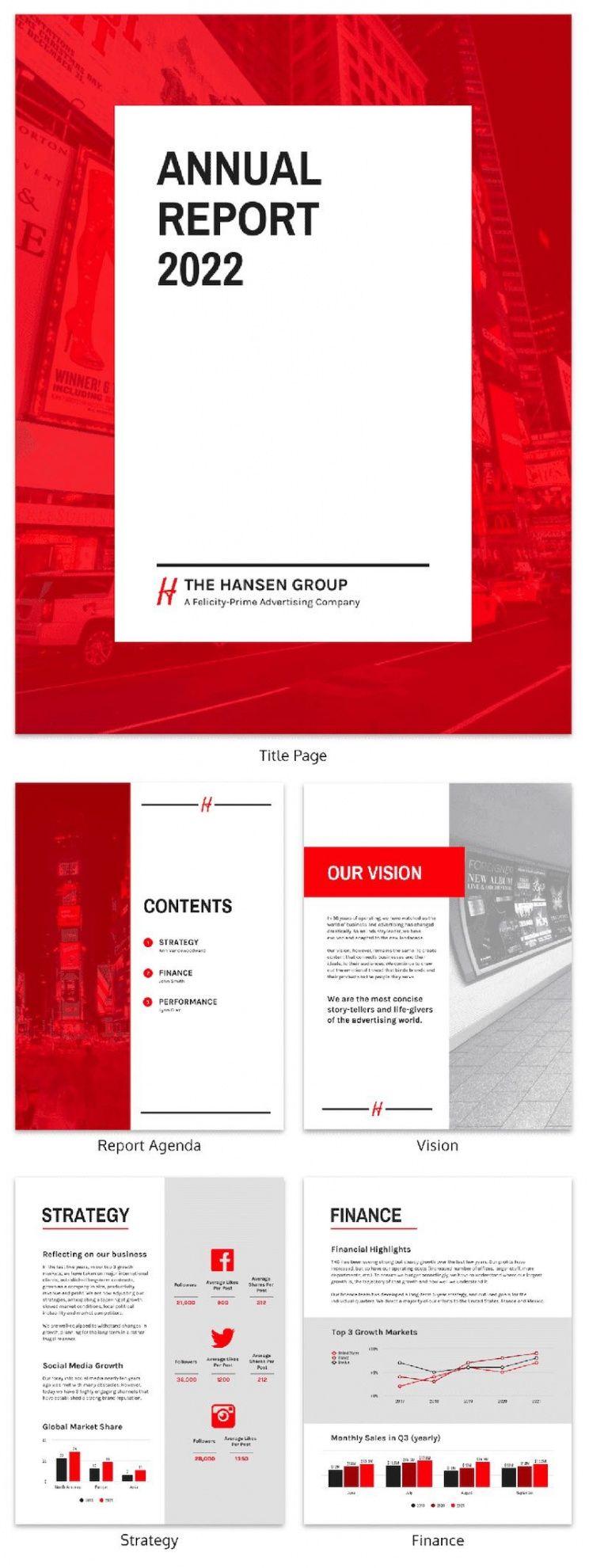 sample 55 annual report design templates & inspirational examples online annual report template example