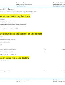 sample electrical installation condition report sample and free electrical inspection report template word