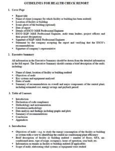 sample energy audit report template  welding rodeo designer energy audit report template pdf