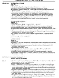 sample land surveyor resume samples  velvet jobs surveyors report template doc