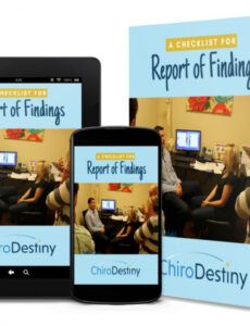 free free chiropractic report of findings template  chirodestiny chiropractic report of findings template sample