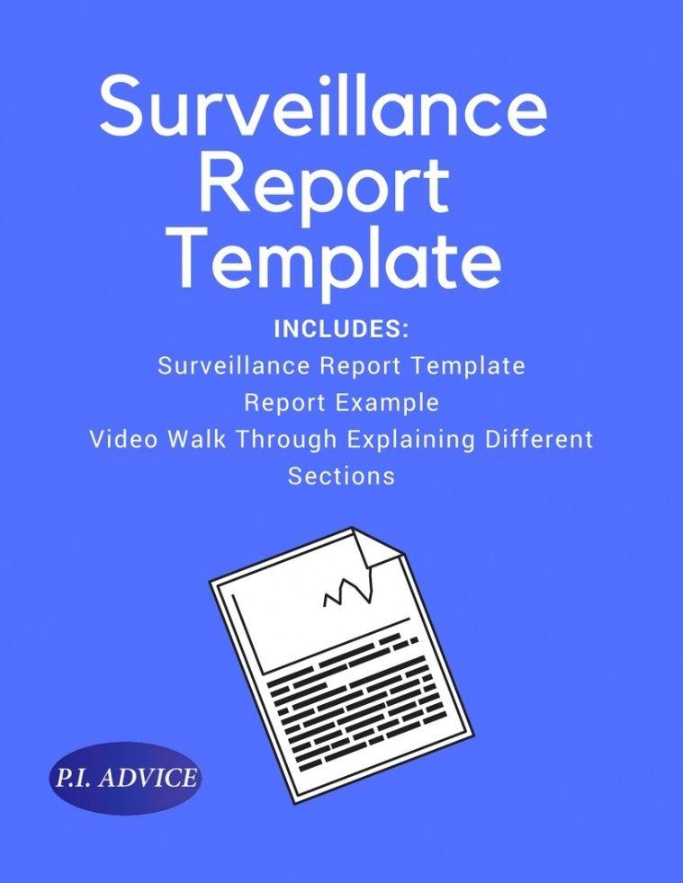 private investigator surveillance report template private investigator surveillance report template example