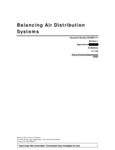 sample air balance report form  fill online printable fillable air balance report template pdf