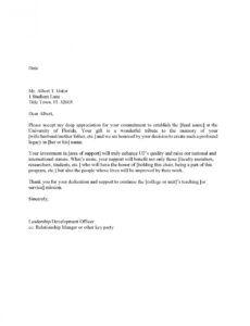 sample stewardship  donor stewardship  university of florida stewardship report template