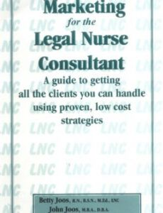 Best Legal Nurse Consultant Report Template Doc Example