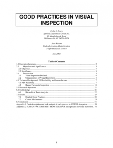 Printable Borescope Inspection Report Template Excel