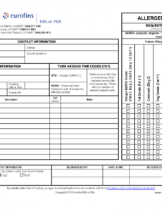 Professional Asbestos Inspection Report Template Word Example