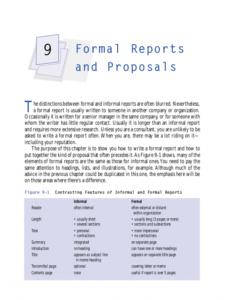 Best Formal Business Report Template Excel Sample