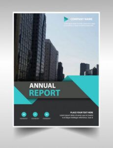 Costum Annual Financial Report Template Word