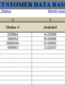 Editable Monthly Production Report Template Excel