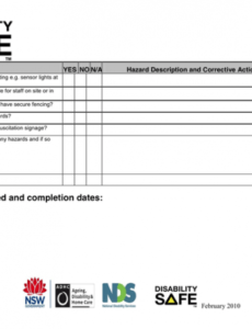 Free Pool Inspection Report Template Excel Sample