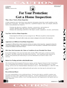 Printable Property Inspection Report Template Pdf Example