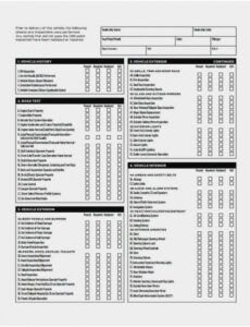 Printable Residential Inspection Report Template Doc Example