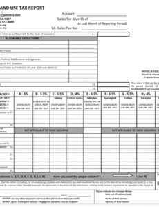 Printable Sales Commission Report Template Word Sample